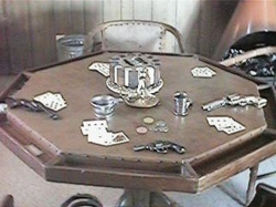 Gambling-table
